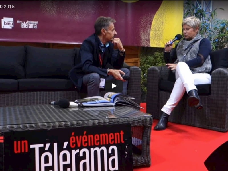 Interview on The book fair of Nice